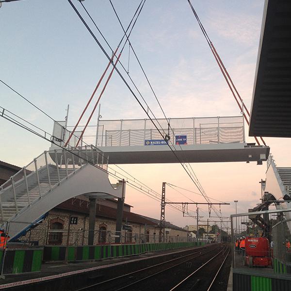 Mise aux normes PMR de la gare de Corbeil-Essonnes